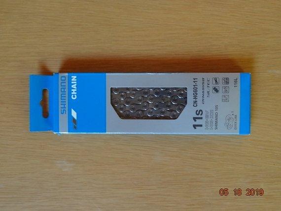 Shimano 11 fach Kette CN-HG601-11, Quick Link, 116 L