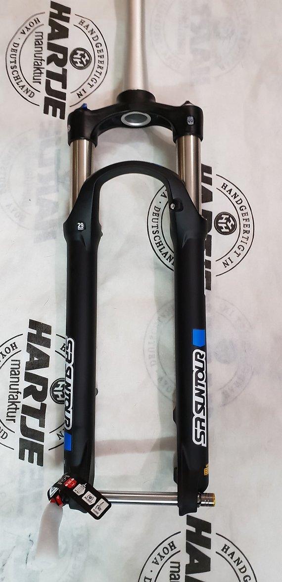 "Suntour 2018 Fork XCR 34 AIR 27.5+/29"" Disc 120mm BOOST"