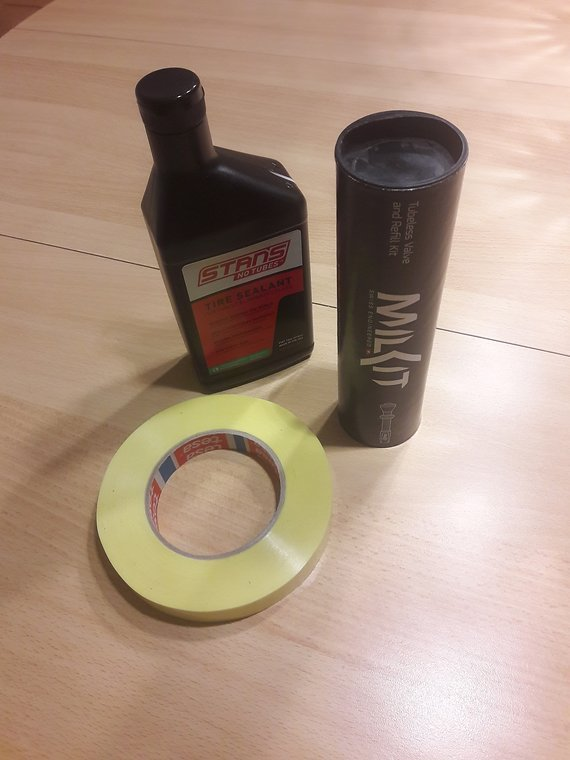 Milkit Tubeless Compact Service Kit 35mm