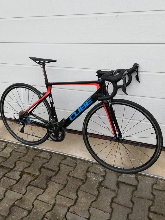 Cube Agree SL C:62 Carbon Team Wanty Custom Aufbau