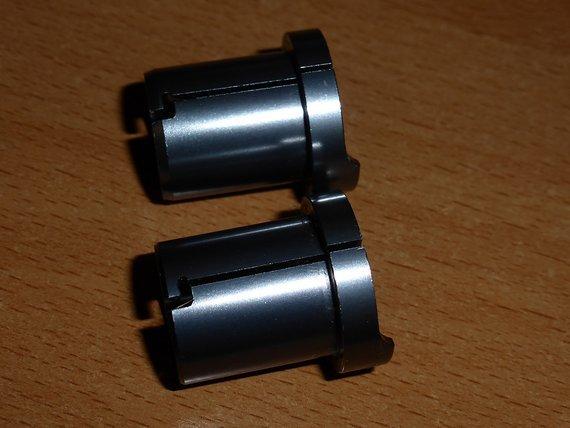 Fox  Racing Shox 20->15mm Adapter rechts