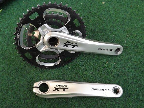 Shimano XT FC-M770 44-32-22 3-Fach, 3x9