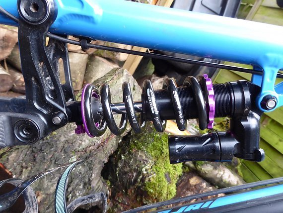 Fast Suspension Fast Supension Holy Grail DH - 200x57 mm