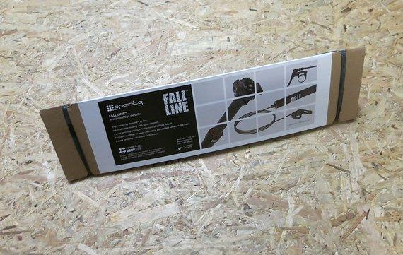 9Point8 Fall Line 200 mm Trigger Inline Sattelstütze 31,6mm