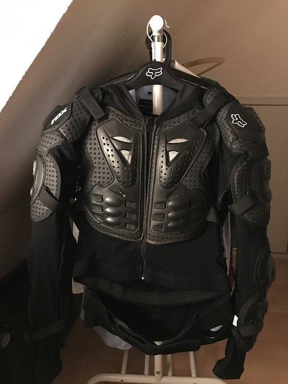 Fox Protektorjacke Titan Sport Black - XL