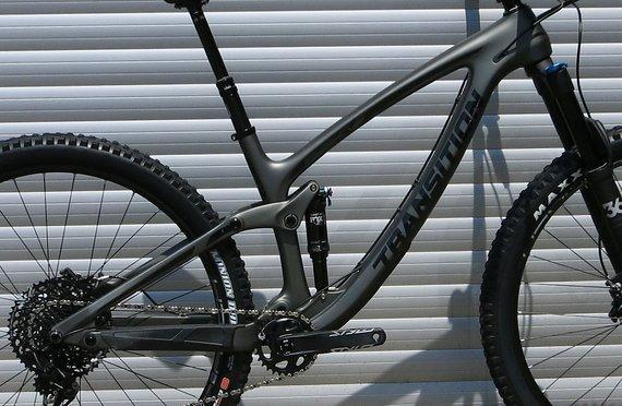 Transition Bikes 2019 Smuggler Carbon Rahmenkit inkl. Fox DPS Performance Elite - Größe M