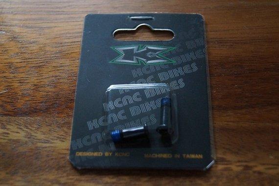 Kcnc Schrauben für Schaltwerksröllchen, schwarz