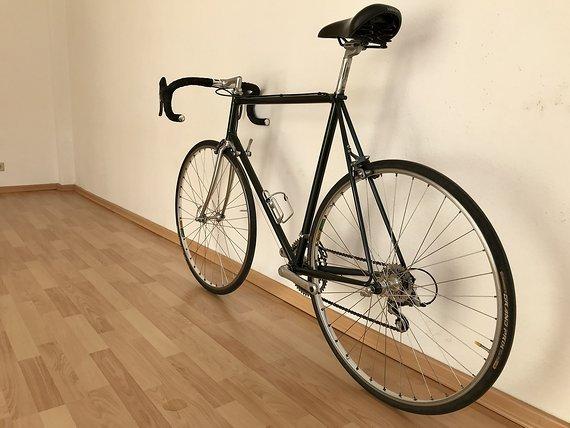 Marke Unbekannt Rennrad Columbus Stahlramen RH 60 cm