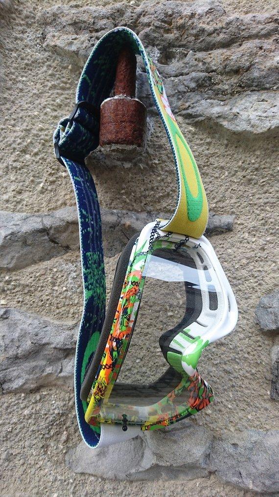 Oakley Goggle - MX O-Frame - Monster Green - XS