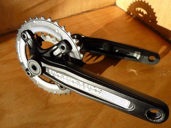 Race Face Ride Kurbel 2-fach 175mm 36/22 für FR/DH und Plus Bikes