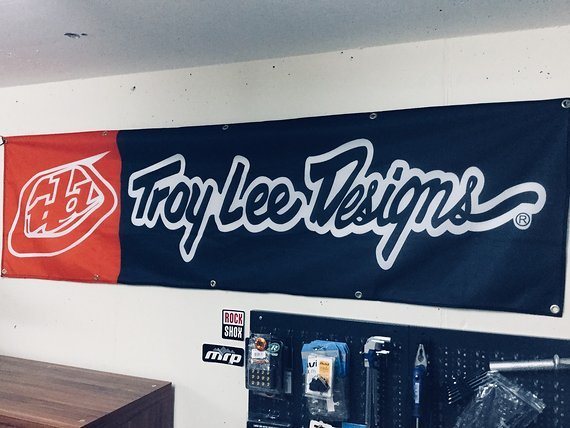 Troy Lee Designs Werbebanner, Flagge, Transparent - NEU