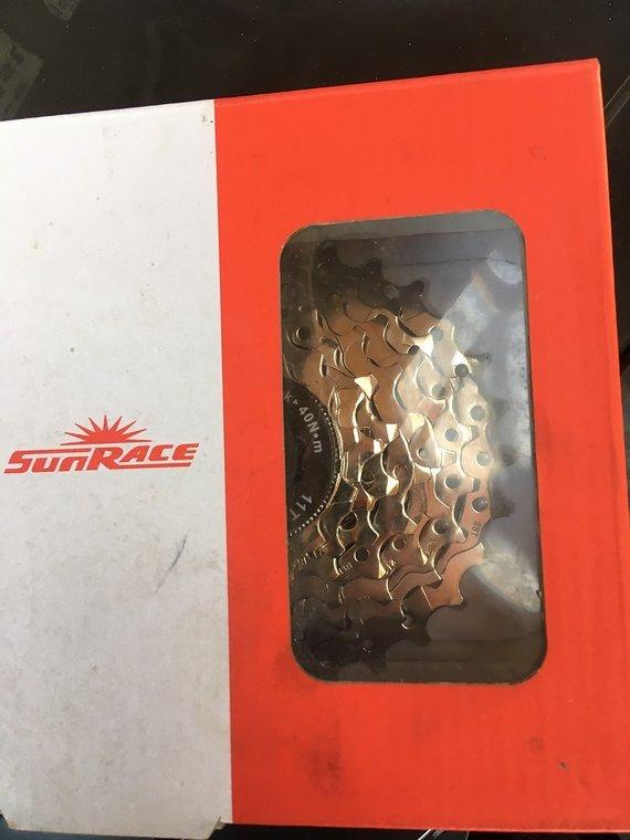 Sunrace 7-fach 11-28 CSM63 Nickel