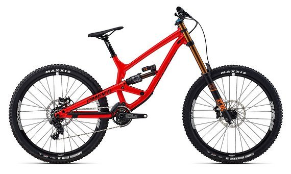 Commencal Furious Race Red