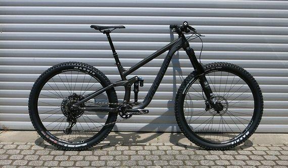 Transition Bikes Komplettbike Sentinel Alu GX - Größe XXL - schwarz