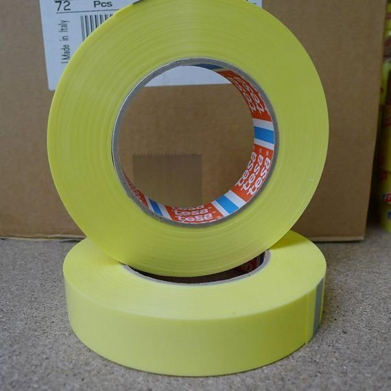 Tesa 4289 Strapping Klebeband 25mm 66 Meter Felgenband