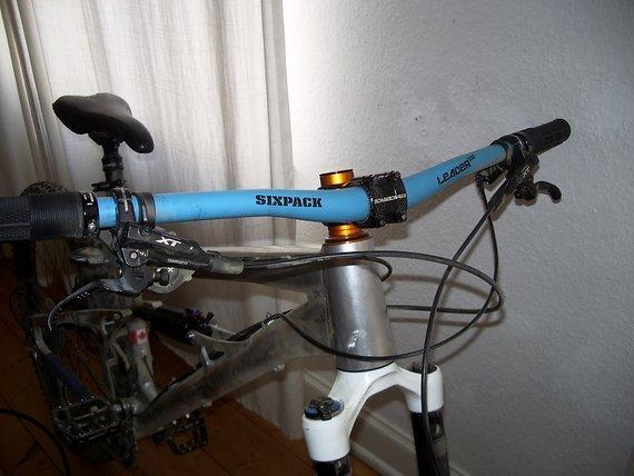 Sixpack LEADER 730 (31,8) blau Lowriser