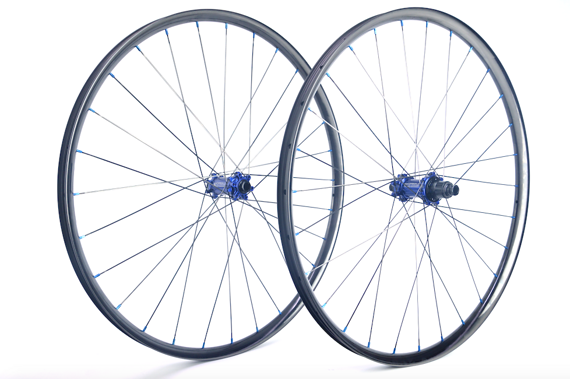 "Radsporttechnik Müller Laufradsatz 29"" Carbon Ti blau Duke Lucky Jack SLS CX Ray ca.1190g"