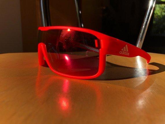 Adidas Zonyk Pro S solar red Sport Sonnenbrille *Neu*