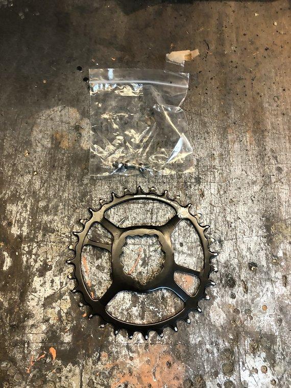 Sram Eagel Direct Mount 32 Zahn-3mm Offset-Stahl-schwarz