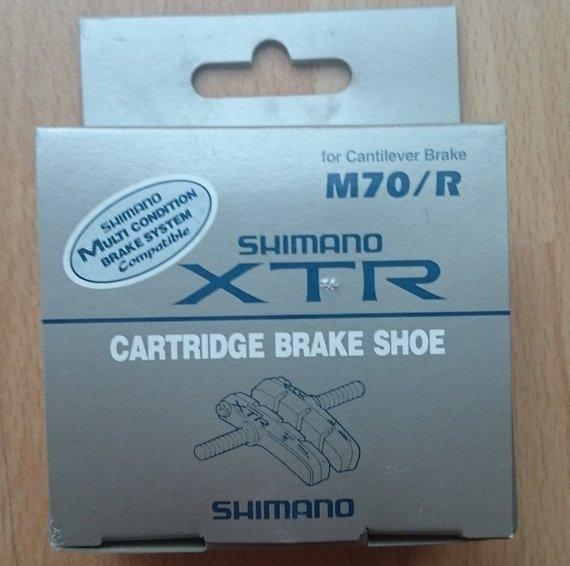Shimano XTR-Bremsschuhe