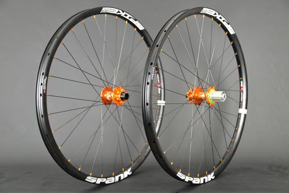 Radsporttechnik Müller Laufradsatz Hope Pro 4 Evo Spank Spike Race 33 für Enduro,Downhill,All Mountain