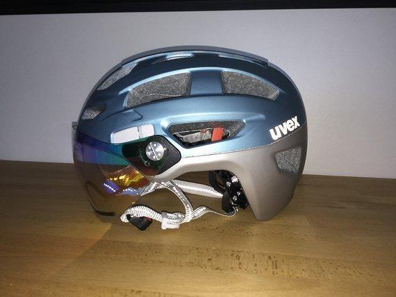 Uvex Finale Visor Fahrradhelm E-Bike Urban