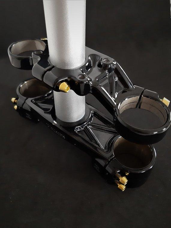 Ti-Suspension Rock Shox Boxxer TITAN Schrauben SET gold NEU