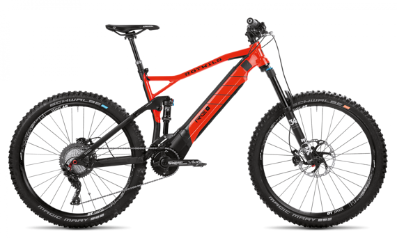 Rotwild E+ FS Pro Gr. XL burning red Modell 2018 NEU