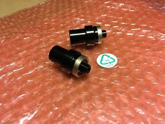 Hope Adapter Umrüstkit FATSNO Front auf Schnellspanner 9 mm für Pro 2 Evo Conversion Kit