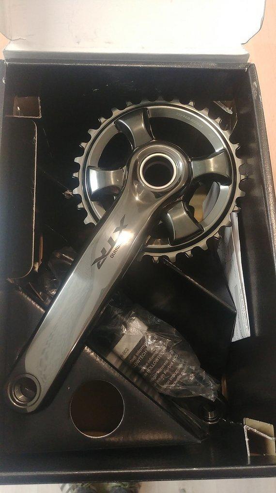 Shimano XTR Kurbelgarnitur 1fach, 175mm
