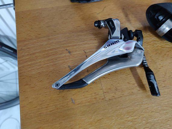SRAM Custom Sram Red 11-fach Set - DT - SW - Umwerfer - Bremsen