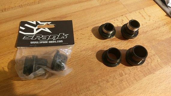Spank 20 mm + 15 mm Adapter für OOZY Laufräder