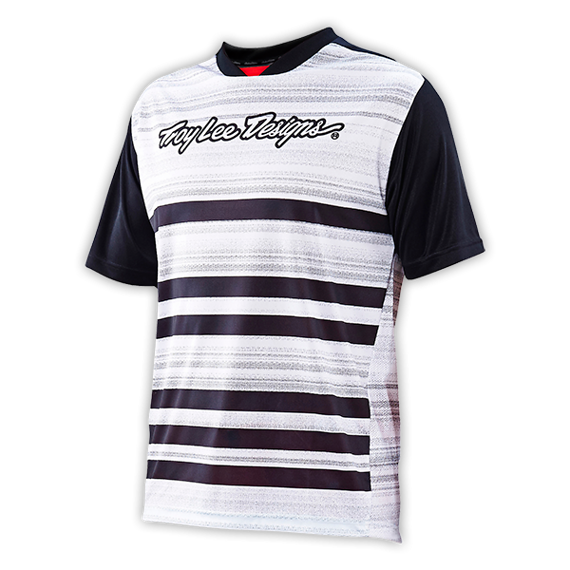 Troy Lee Designs JERSEY BLACK/WHITE Gr. M NEU