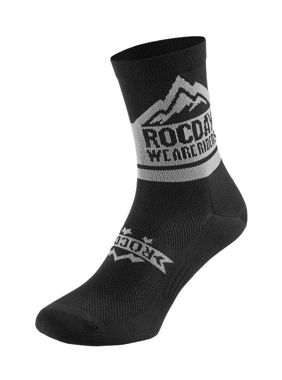 Rocday TRAIL Socks Black, Gr. L/XL