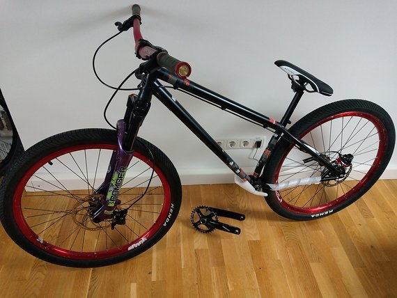Specialized dirt bike komplett NEU aufgebaut