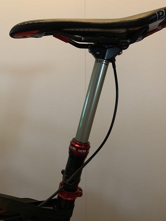 Kind Shock Supernatural Sattelstütze 150/31,6x435 mm mit Remote-Unikat von BK Composites