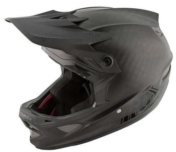 Troy Lee Designs D3 Carbon MIPS Midnight Black - S