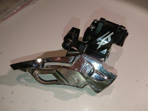 Shimano XT FD-M781A, Top Pull