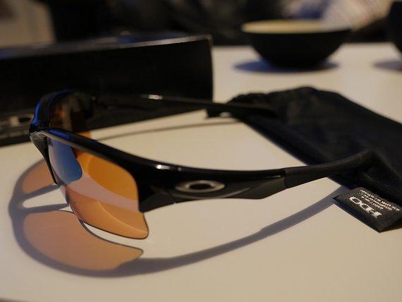 Oakley Quarter Jacket (Youth Fit) Polished Black/G30 Iridium Brille