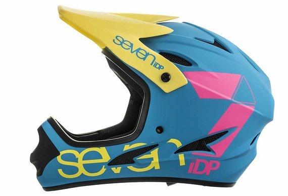 Seven Idp M1 Fullface DH Helm CMYK Limited Edition Gr. XL *NEU*