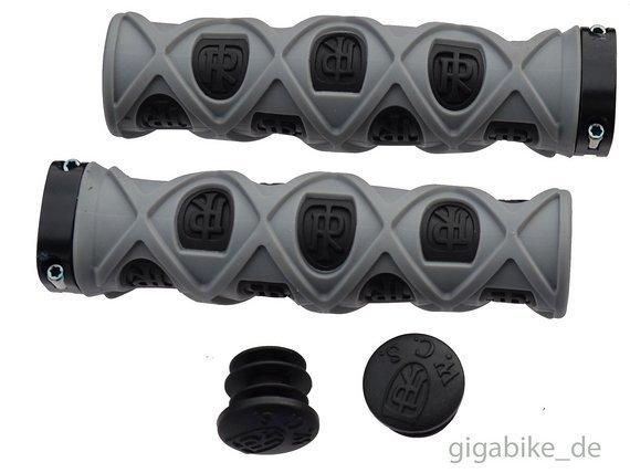 Ritchey Pro TG7 True Grips Grid Lock On Lenkergriffe Griffe schwarz-grau