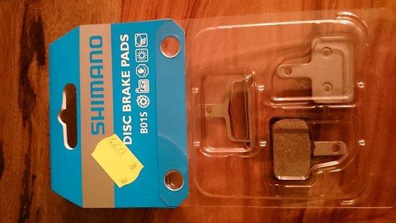 Shimano Bremsbeläge Disc für Shimano B01S resin, organisch