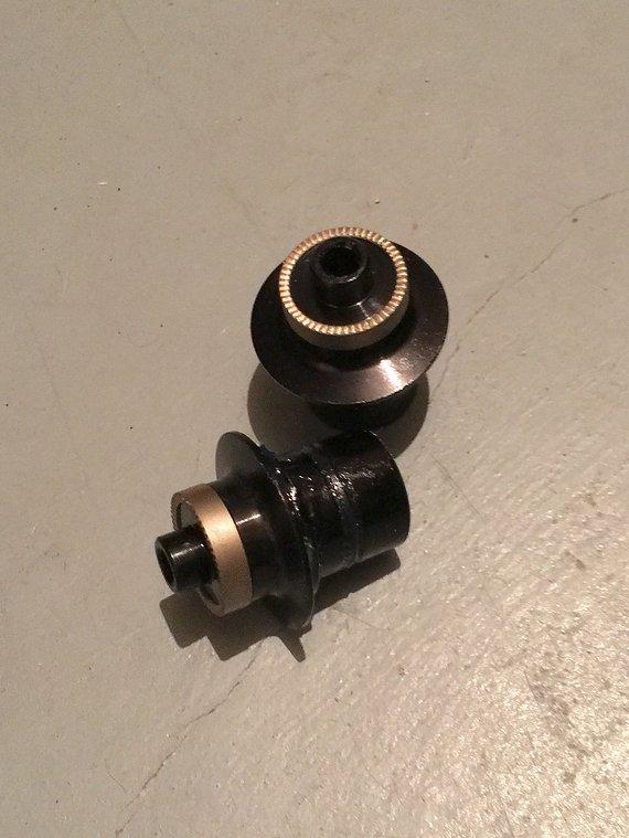 Hope Achs-Adapter Schnellspanner Pro 2 Evo Vorderrad