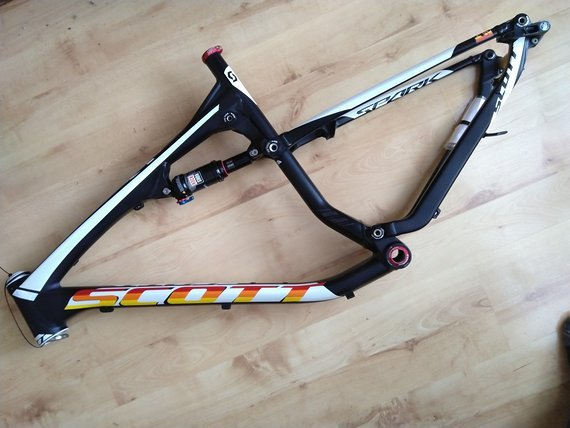 "Scott Rahmen / Frame Scott Spark 740 XL, 2014, 27.5"" with new Rock Shox Monarch RL"