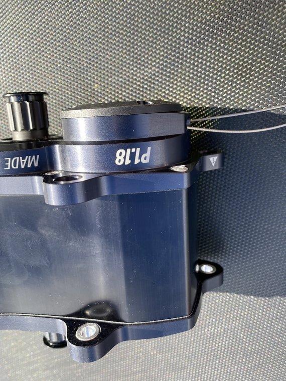 18 (Pinion Getriebe P1.18) Pinion P1.18 Schwarz aus Neurad Getriebe