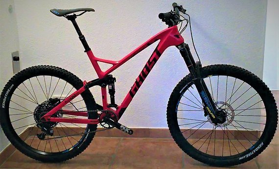 Ghost Slamr LC 27,5 Framr 150/130mm Trailbike