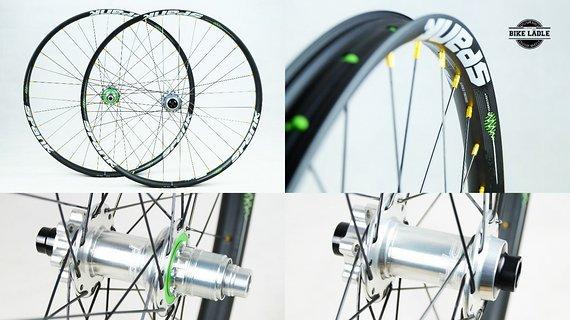 "Spank Spike 350 Vibrocore Laufradsatz 27,5""/29"" mit Hope Pro 4 Nabe / Bike Lädle Laufradbau"