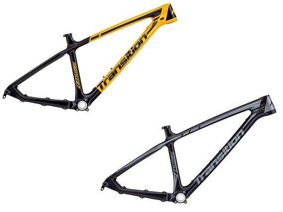 "Transition Bikes Throttle Carbon Rahmen 27,5"", Abverkauf"