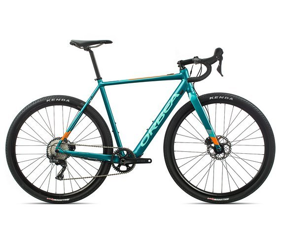 Orbea Gain D31 Türkis Orange 2020 M