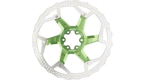 Reverse Components Disc / Bremsscheibe 200mm green / grün *NEU*